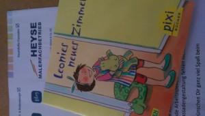 """Eine Aktion von Maler Heyse: Das Pixi-Buch """"Leonies neues Zimmer"""""""