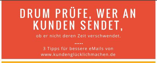 Vorschaubild Überschrift 3 Tipps für kundenfreundlichere eMails